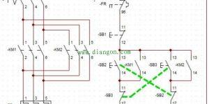 三相交流电动机正反转互锁电路的分析插图
