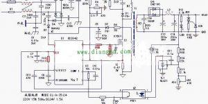 五张24v开关电源原理电路图及工作原理讲解插图