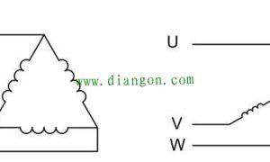 90KW三相电机星型接法和三角形接法电流计算插图
