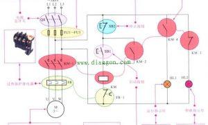 电动机控制电路的图解分析插图