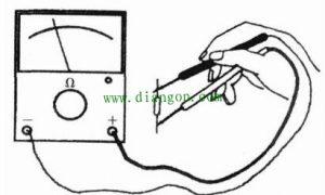 指针式万用表检测电阻方法图解插图