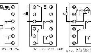 中间继电器接线图图解插图