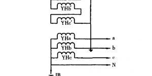 五柱式三相电压互感器工作原理插图