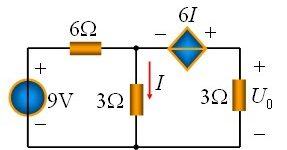 戴维宁定理习题及答案_利用戴维宁定理求解电路应用举例插图