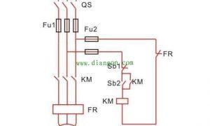交流接触器自锁和互锁电路图原理图解插图