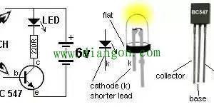 三级管最简单放大电路图解插图