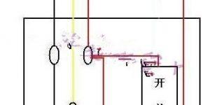 各类开关接线图与实物图插图