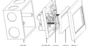 开关插座安装接线方法图解插图