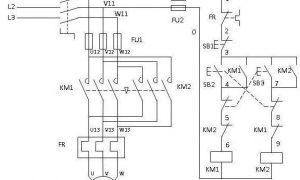 电工必知必懂:电动机正反转控制电路图实物接线图插图