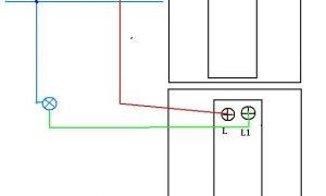 单控单开开关接线图_单联开关接法图解_ 单联单控开关接线图解插图