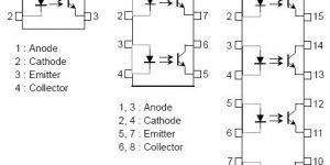 TLP521中文资料(引脚图,电气参数及应用电路)插图