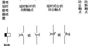 时间继电器的图形符号及文字符号插图