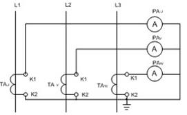 电流互感器接线图插图