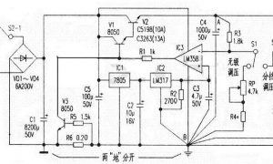 DIY可调稳压电源电路图解插图