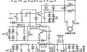 电磁调速电动机控制系统的常见故障原因分析及检修插图