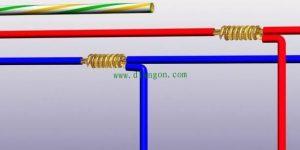 家用电线最规范的三种接法 快来看看你家的电工师傅接对了吗?插图