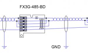 三菱FX3u通过485通讯N:N方式插图