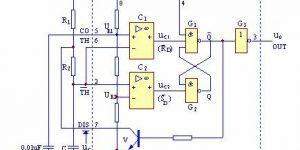 用555定时器组成多谐振荡器插图
