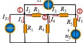 结点电压法的概念_节点电压法例题_结点电压法的求解步骤插图