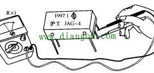 干簧管继电器检测方法图解插图