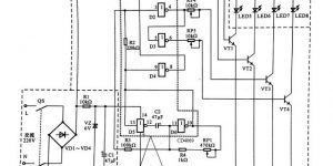 LED广告灯控制线路原理图解插图