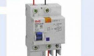 漏电保护器标识解读插图